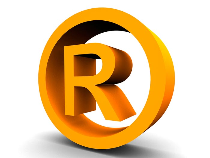 Известные символы и их значения Зарегистрированная торговая марка