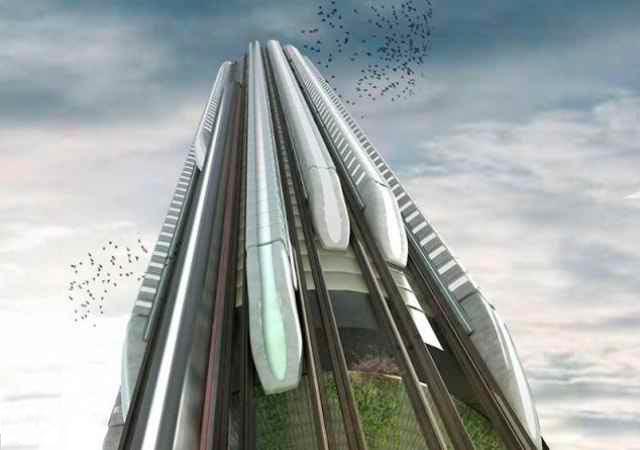 Супертехнологии: вертикальное метро