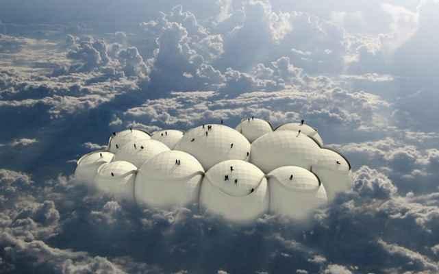 Супертехнологии: вертикальное метро Парящее облако