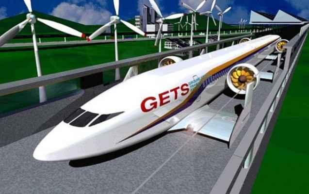 Супертехнологии: вертикальное метро Аэропоезд