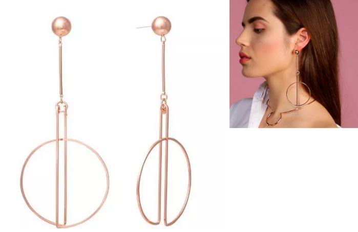 Красивые, броские и дешевые сережки для девушек Dose Of Rose