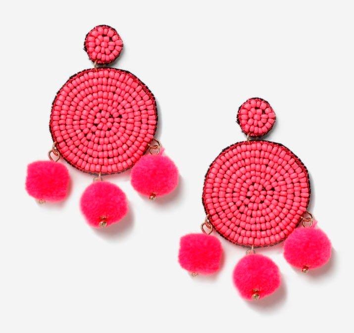 Красивые, броские и дешевые сережки для девушек Topshop