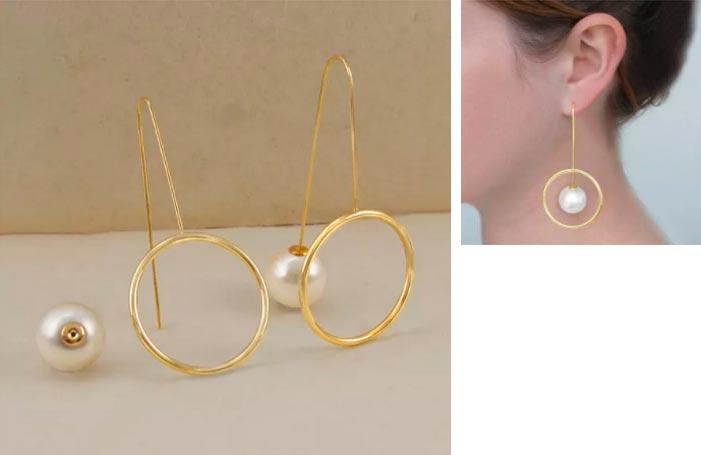 Красивые, броские и дешевые сережки для девушек EmbersFashionJewelry