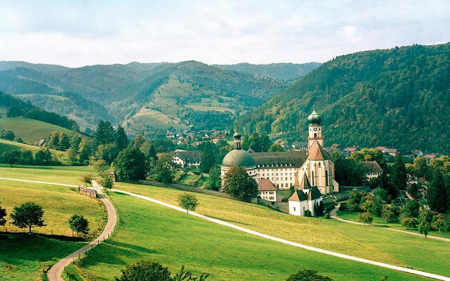 Европейские деревни: малоизвестные, но красивые Штауфен-им-Брайсгау, Германия
