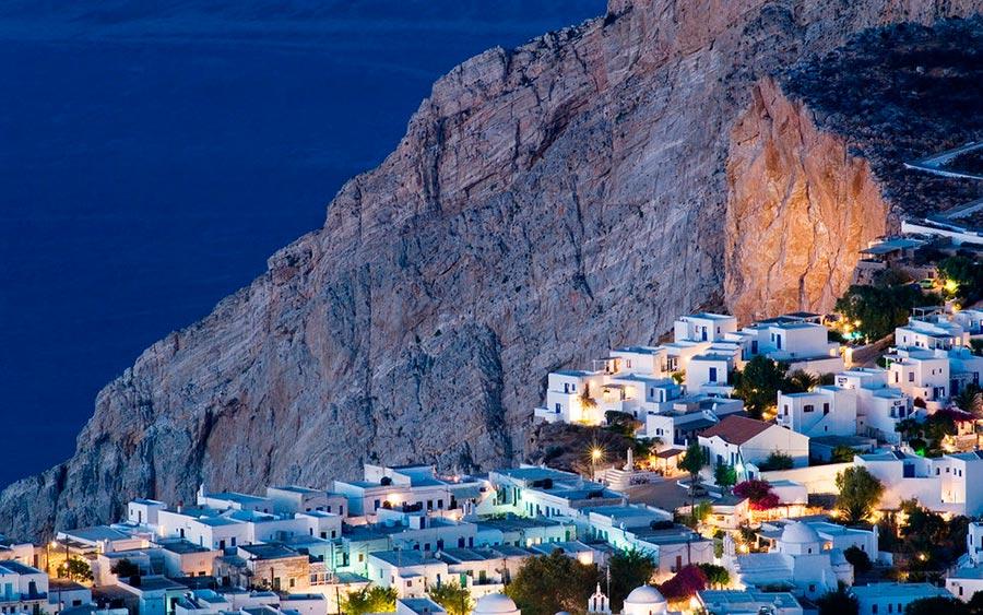 Европейские деревни: малоизвестные, но красивые Фолегандрос, Греция