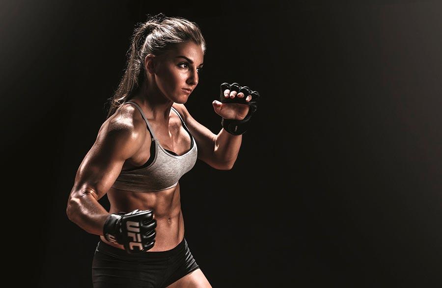 Великолепные девушки из самого жестокого спорта в мире ММА Александра Албу