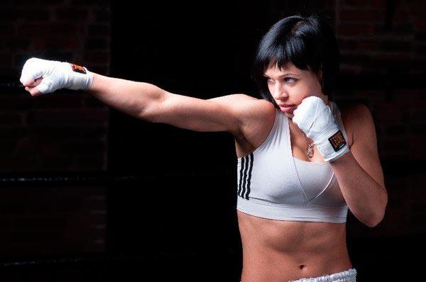 Великолепные девушки из самого жестокого спорта в мире ММА Елена Овчинникова