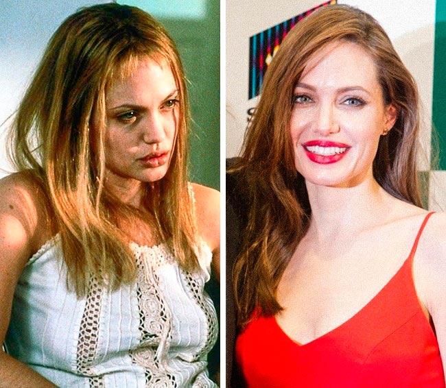 Знаменитости, которые побороли наркоманию и алкоголизм Анджелина Джоли