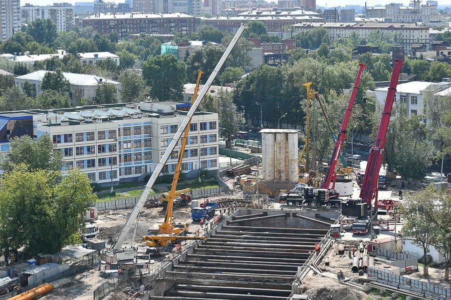 Третье кольцо метро: стройка и работа проходческого щита