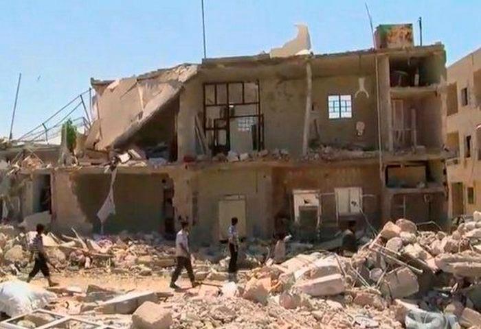 Самые опасные места на Земле Страна Сирия
