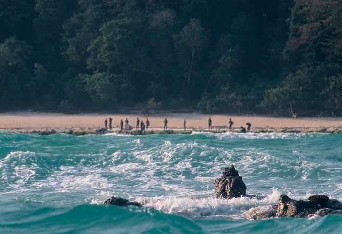 Самые опасные места на Земле Северный Сентинельский остров