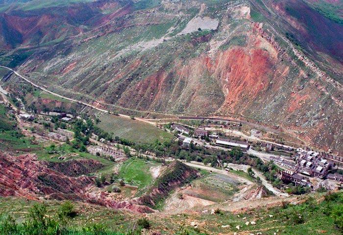 Самые опасные места на Земле Город Майлуу-Суу