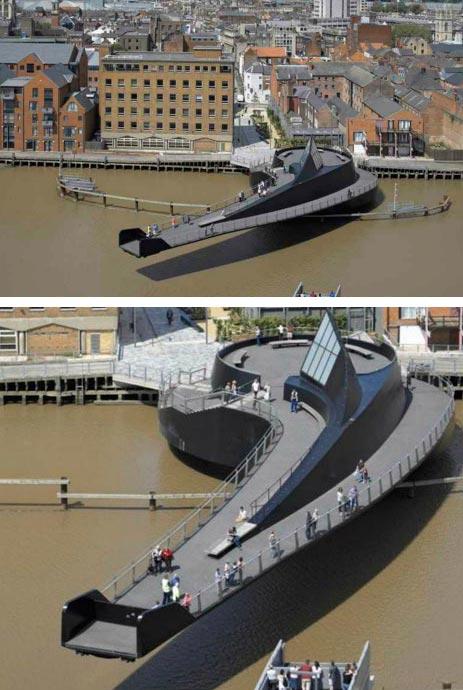Самые фантастичные современные мосты Запятая