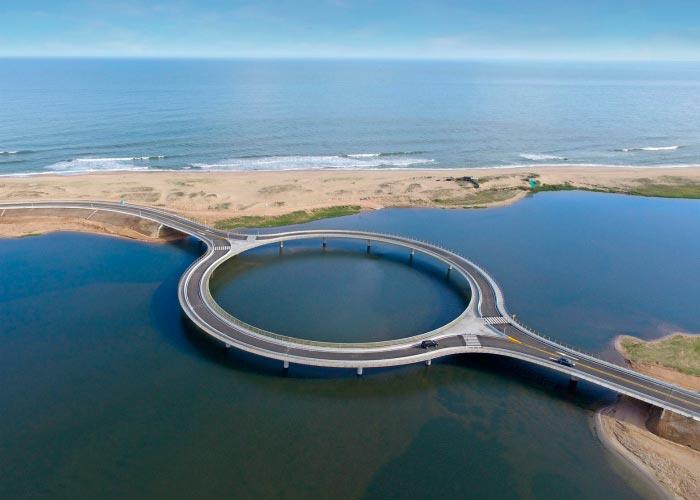 Самые фантастичные современные мосты Кольцо