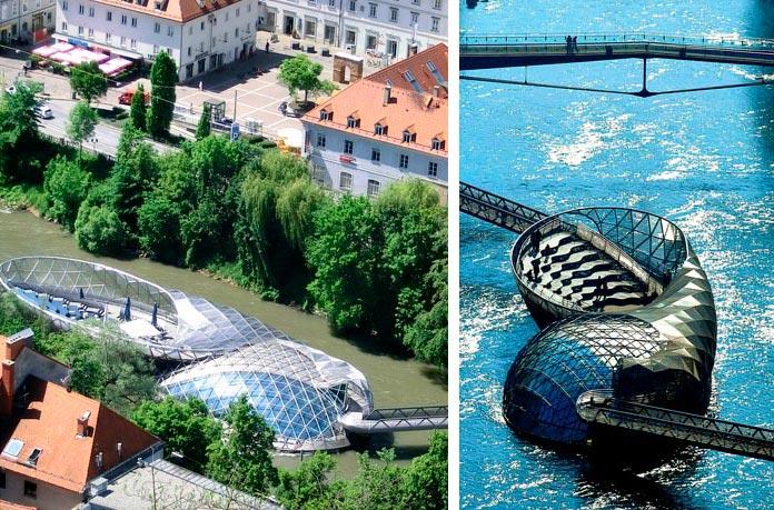 Самые фантастичные современные мосты Муринзель