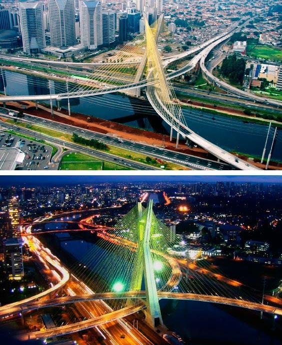 Самые фантастичные современные мосты «Октавио Фриас де Оливейра»