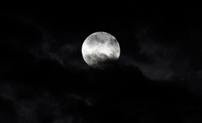 Частичное затмение Луны Борис Карслян