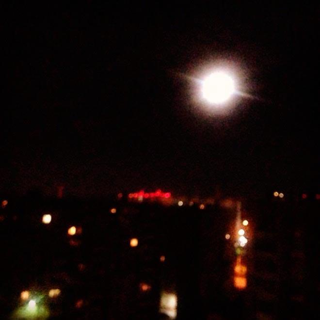 Частичное затмение Луны Ирина Григорьевских