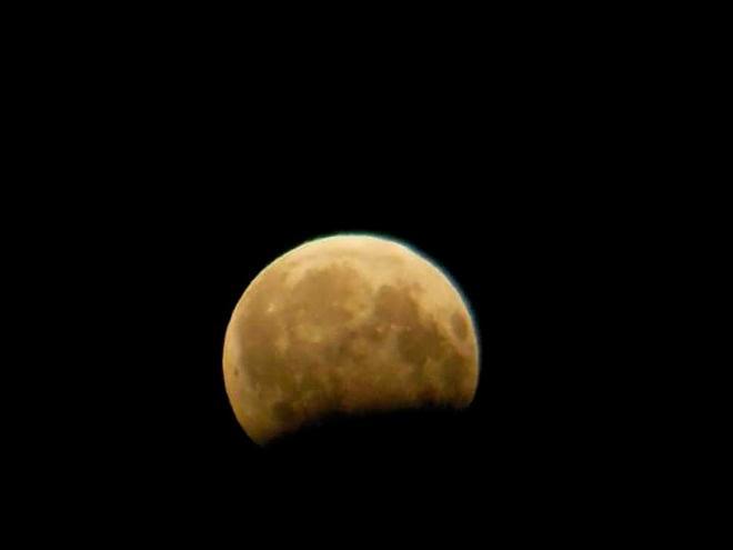 Частичное затмение Луны Виктор Черепок