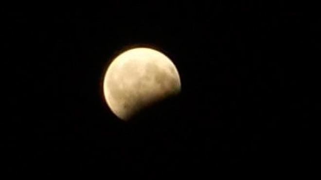 Частичное затмение Луны Рауф Караев