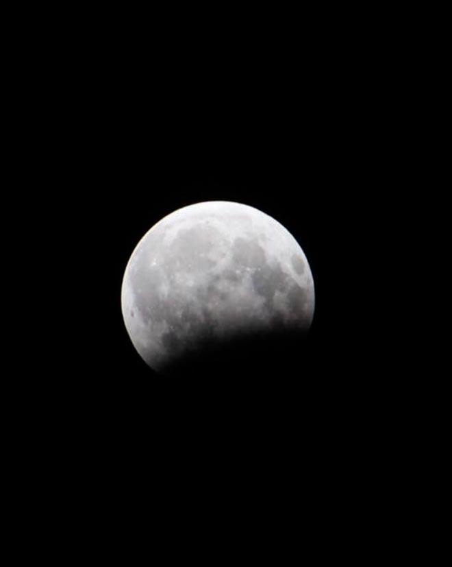 Частичное затмение Луны Азер Маммадов