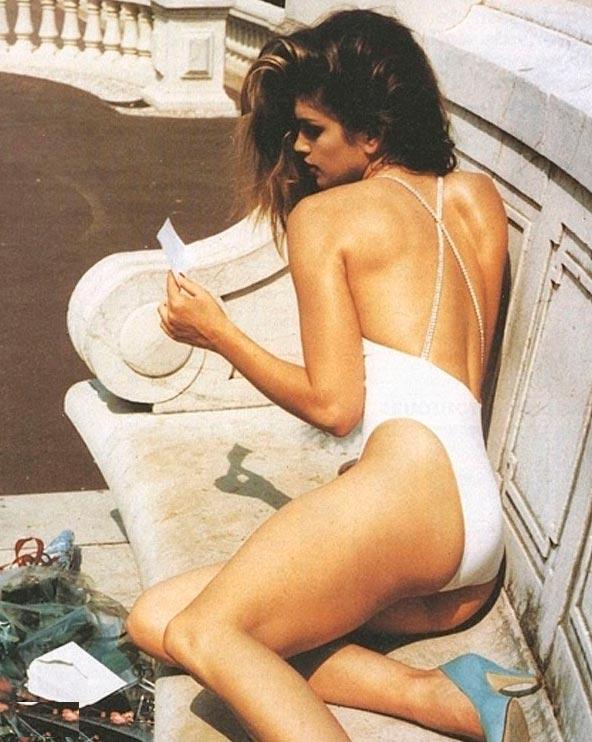 Красота без фотошопа: модели 20 лет назад Синди Кроуфорд Cindy Crawford