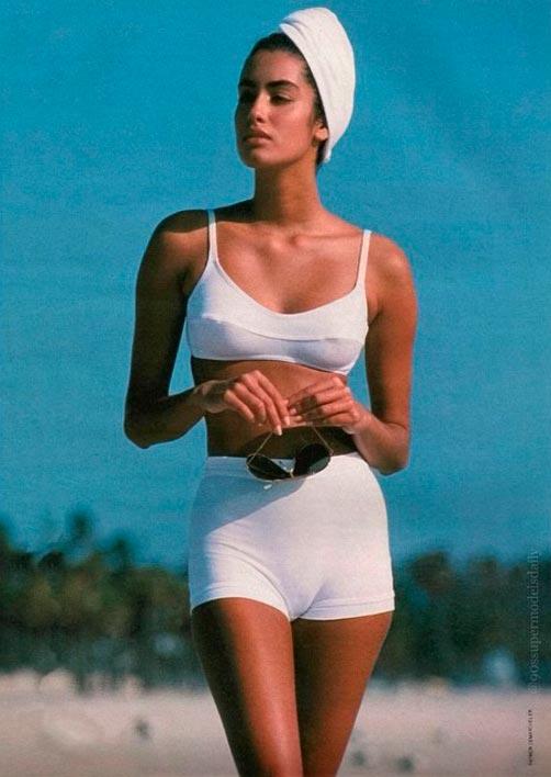 Красота без фотошопа: модели 20 лет назад Ясмин Гаури Yasmeen Ghauri