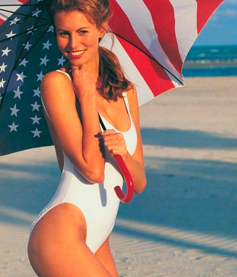 Красота без фотошопа: модели 20 лет назад Никки Тейлор Niki Taylor