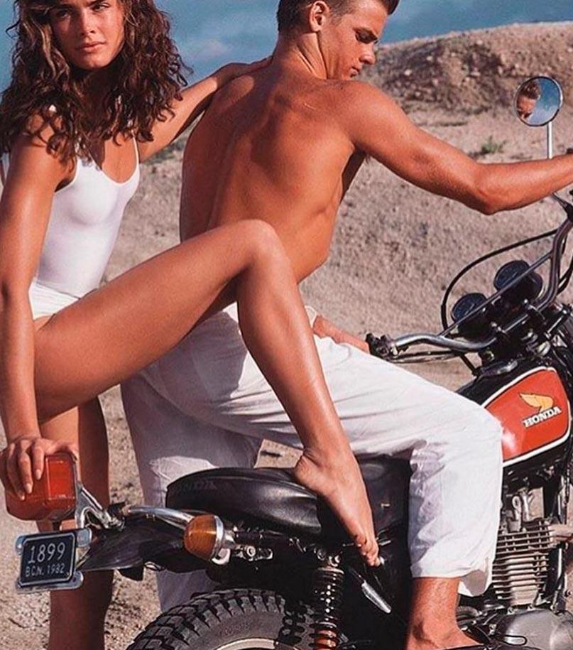 Красота без фотошопа: модели 20 лет назад Брук Шилдс Brooke Shields