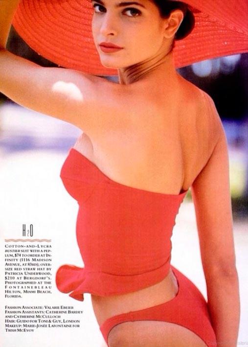 Красота без фотошопа: модели 20 лет назад Стефани Сеймур Stephanie Seymour