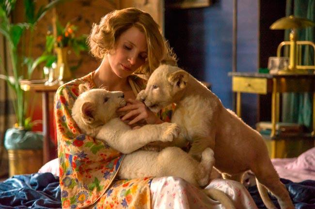 15 современных фильмов Жена смотрителя зоопарка The Zookeeper's Wife