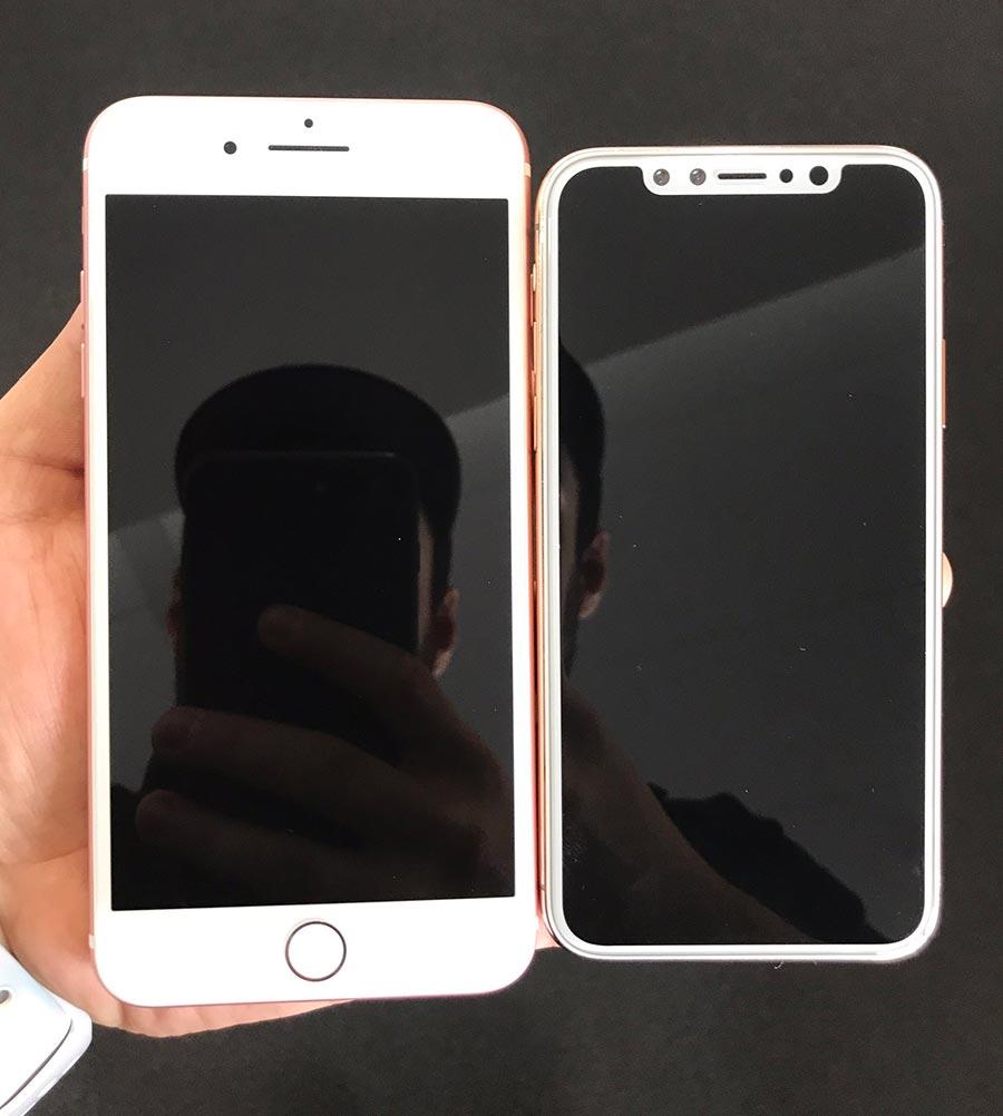 """""""Живые"""" фото трех новых iPhone опубликованы в Сети"""