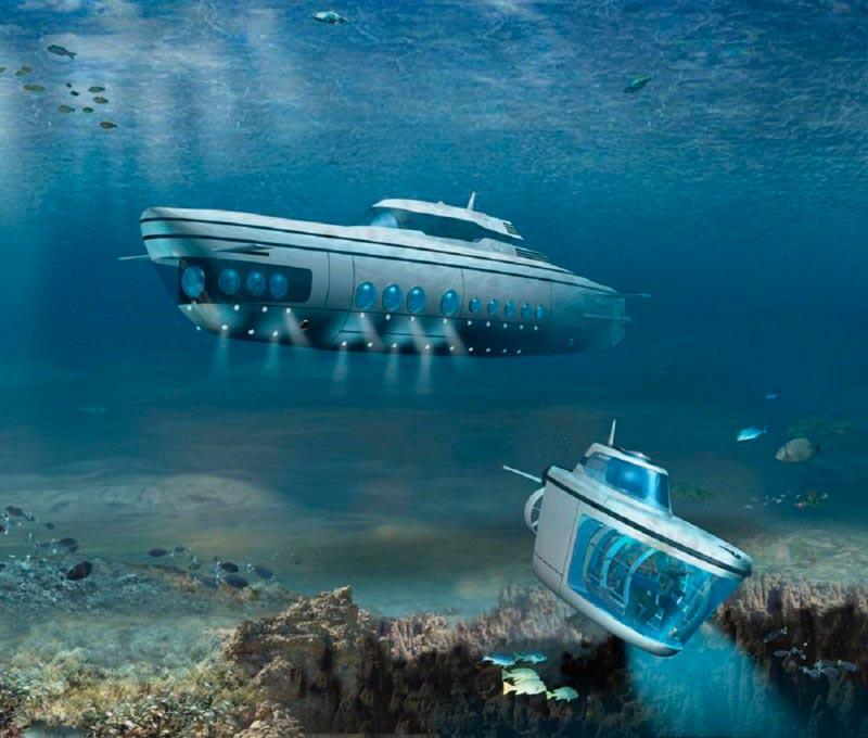 Самые эксклюзивные частные подводные лодки Phoenix 1000