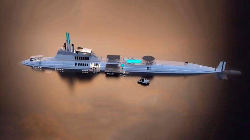 Самые эксклюзивные частные подводные лодки Migaloo