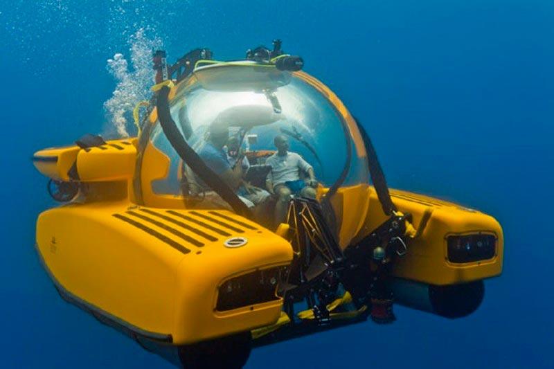 Самые эксклюзивные частные подводные лодки Тритон 3300/3