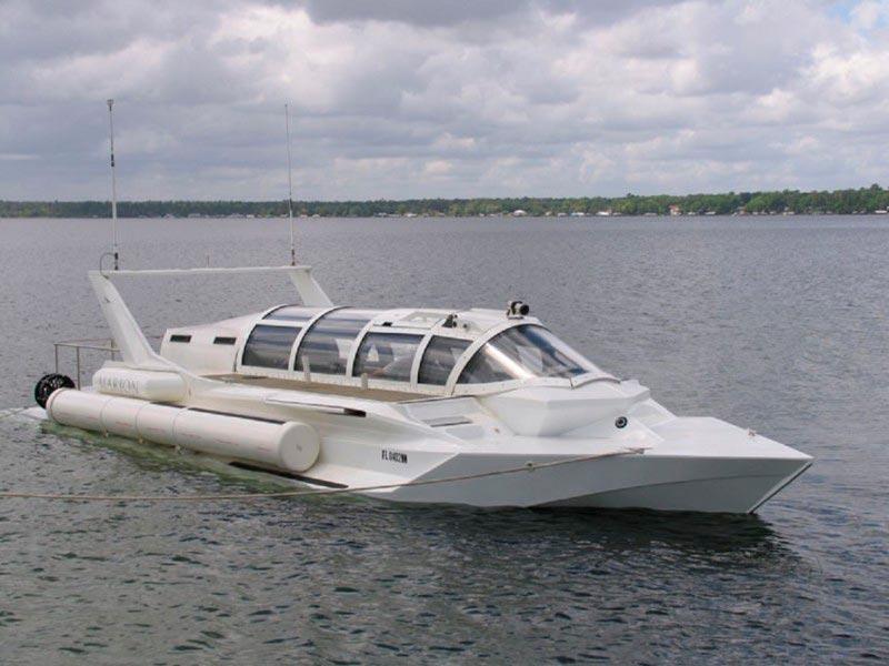 Самые эксклюзивные частные подводные лодки Marion Hyper-Sub