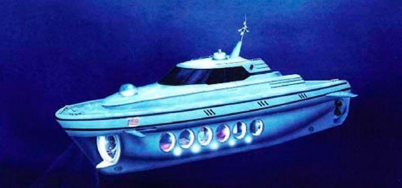 Самые эксклюзивные частные подводные лодки Nomad 1000