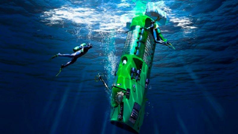 Самые эксклюзивные частные подводные лодки Deepsea Challenger