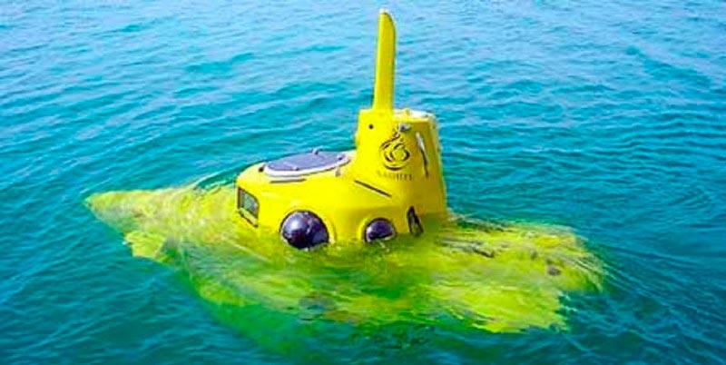 Самые эксклюзивные частные подводные лодки Yellow Submarine