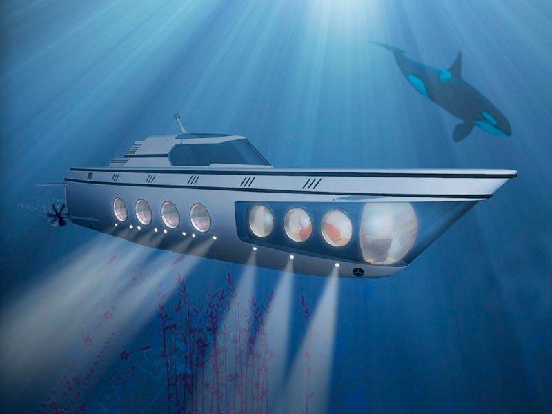 Самые эксклюзивные частные подводные лодки Seattle 1000