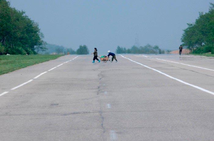 Северная Корея: по дорогам