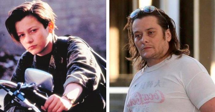 Актеры культовых фильмов 90-х: тогда и сейчас Терминатор-2 Судный день Эдвард Ферлонг