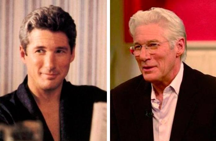 Актеры культовых фильмов 90-х: тогда и сейчас Красотка Ричард Гир