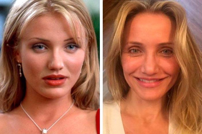 Актеры культовых фильмов 90-х: тогда и сейчас Маска Камерон Диас