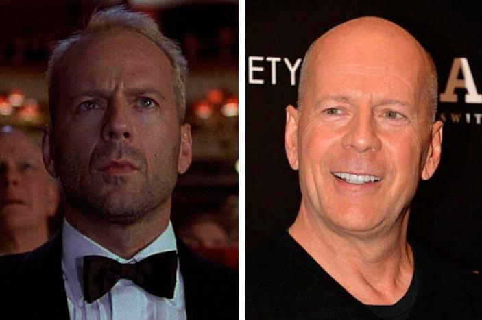 Актеры культовых фильмов 90-х: тогда и сейчас Пятый элемент Брюс Уиллис