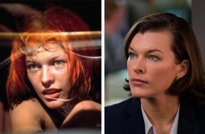 Актеры культовых фильмов 90-х: тогда и сейчас Пятый элемент Милла Йовович