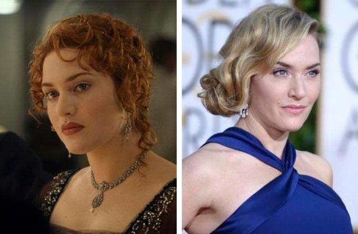 Актеры культовых фильмов 90-х: тогда и сейчас Титаник Кейт Уинслет