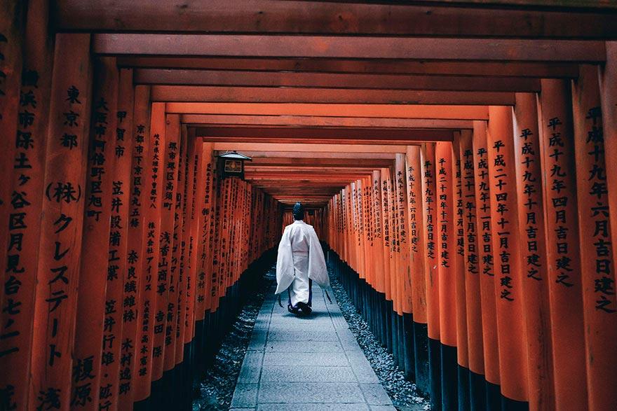 Япония: самые красивые места Japan Храм Фусими Инари-тайша