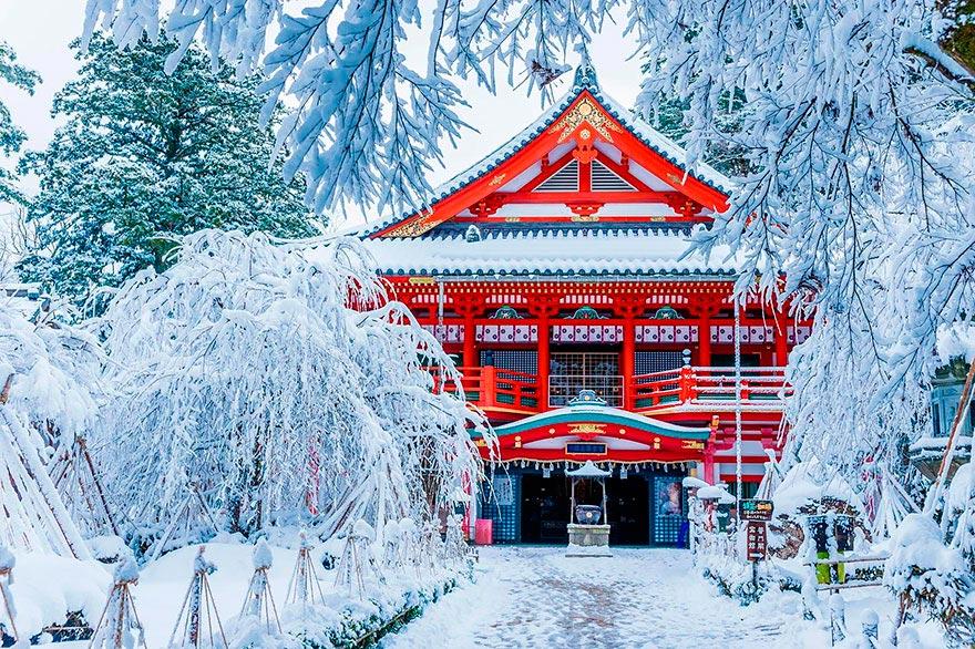Япония: самые красивые места Japan Храм Натадэра