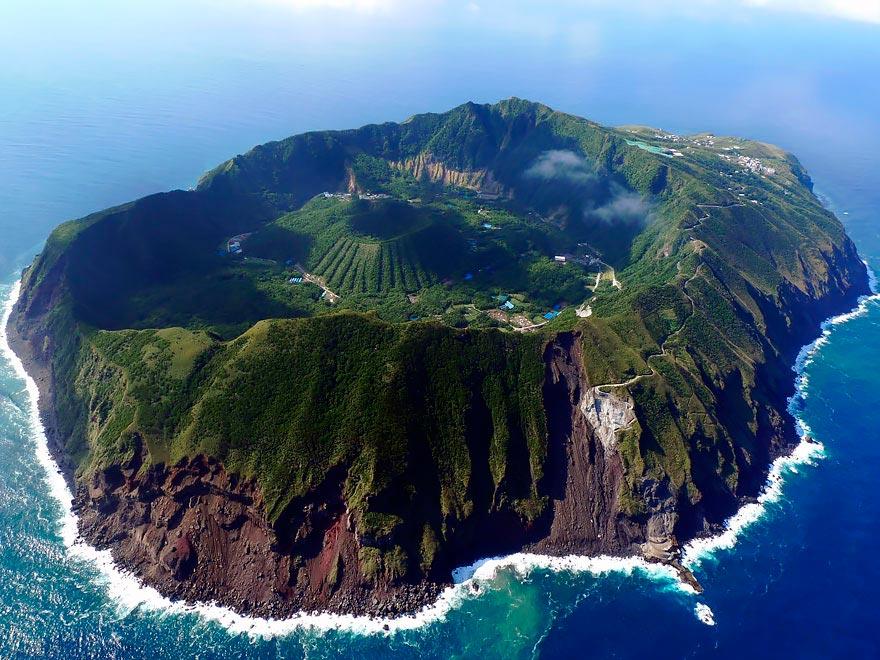 Япония: самые красивые места Japan Остров Аогашима